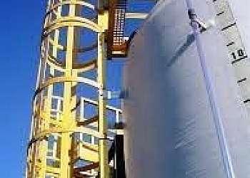 Escada de fibra de vidro 9 metros