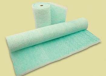 Filtro manta fibra de vidro
